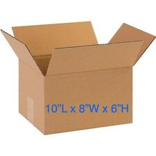 Lot of 25 - 10x8x6 Cardboard Mailing Packing Shipping Moving Boxes Package