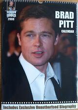 Brad Pitt Kalender 2008 Spiralbindung 30 x 42 cm 12 Poster zum Rautrennen