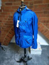 C.P. Company blue Nyfoil Goggle Jacket, Size 48 BNWT - RRP £595!