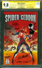 Spider Geddon 0 CGC 9.8 3XSS Zeck Sketch Remark 2018 Secret Wars Homage Variant