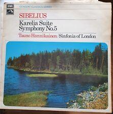 TAUNO HANNIKAINEN / SINFONIA OF LONDON Sibelius - Karelia Suite Symphony No 5