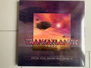 """3LP - TRANSATLANTIC """"SMPTe"""" - BOX SEALED - Flower Kings/Dream Theater/Marillion"""