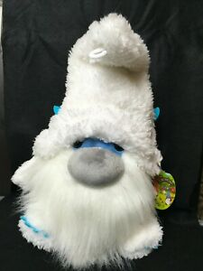 "NEW!  15"" Aurora THE GNOMLINS White Gnome Plush"