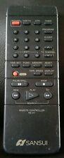 SANSUI Remote Controller RS-V7