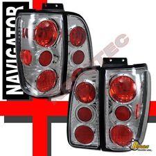 1998-2002 Lincoln Navigator Tail Lights Chrome 1 Pair 99 00 01