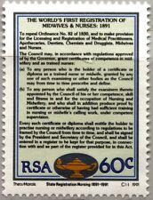 RSA SÜDAFRIKA SOUTH AFRICA 1991 822 Anerkennung Krankenpflegepersonal Medizin **