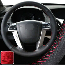 DIY Sew Steering Wheel Cover Wrap for Honda Odyssey Pilot 14 15 8th Accord 08-12