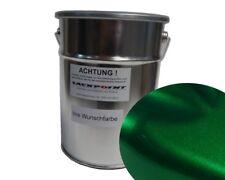 0,5 Liter Spritzfertig Wasserbasislack Candy Grün 2 Metallic Autolack Lackpoint
