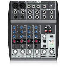 Behringer xenx 802 8 input 2 Bus Mixer