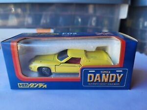 TOMICA DANDY F02 - LOTUS EUROPA [YELLOW] EXCELLENT VHTF BOX GREAT MADE IN JAPAN