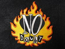 NO DOUBT FLAME PATCH MOTORCYCLE BIKER PATCH--006BG