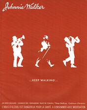 Publicité Advertising 088  2003   whisky Johnnie Walker  un New-Orleans