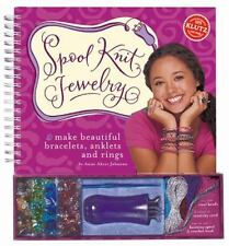 Spool Knit Jewelry Kit : Make Beautiful Bracelets, Anklets and Rings by KLUTZ