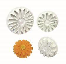 Ausstechformen aus Kunststoff mit Blumen- & Garten zum Backen Fondant