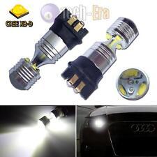 Error Free Xenon White PWY24W LED Front Turn Signal Light DRL Bulbs For Audi VW