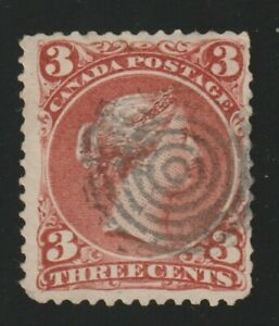 Canada 1868 #25i Large Queen Issue - F Used