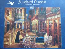 """Neuwertig Bluebird Puzzle 1500 Teile Ristorante Da Roberto   """"Herausvorderung """""""