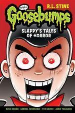 Slappy's Tales of Horror (Goosebumps Graphix)  (ExLib, NoDust) by R. L. Stine