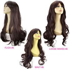Perruque complète longs ondulés pour femme