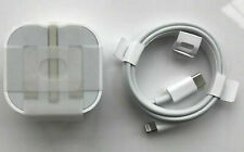 GENUINE APPLE IPHONE 12 MINI / PRO MAX 18W USB TYPE-C CHARGER ADAPTER PLUG/CABLE