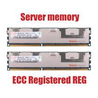 For Hynix 16GB 2X8GB PC3-10600R DDR3-1333MHz CL9 240Pin ECC Registered REG RHN
