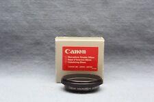 Canon Macro Photo Filter Ring Coupler 55mm w/Box - NOS Reverses lens on Camera