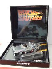 MINICHAMPS BACK TO THE FUTURE 1981 DELOREAN DMC 12 1:43 SCALE MIB 436 140070