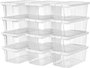 Gebraucht 12er Aufbewahrungsboxen für Schuhe,2set  L211649A+LSP12WT