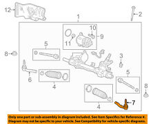 GM OEM Steering Gear-Outer Tie Rod End 23479348