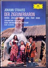 DVD Siegfried JERUSALEM Signed STRAUSS: DER ZIGEUNERBARON Perry Rebroff EICHHORN