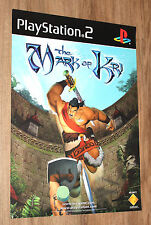 The Mark of Kri very rare Promo Poster 59x42cm Playstation 2