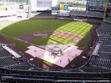 1-4 Chicago Cubs @ Milwaukee Brewers 9/21/17 Tickets 2017 Sec 422 Row 8
