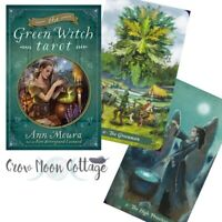 The GREEN WITCH TAROT DECK & BOOK Boxed SET Ann Moura Wiccan Pagan Witchcraft