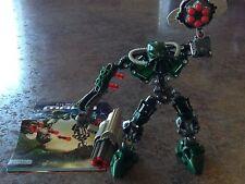 Bionicle Lego 8910 Mahri Toa Kongu 100% pieces plus instructions, no box