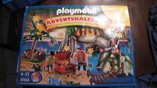 playmobil adventskalender 4164 PIRATEN SCHATZHÖHLE mit Diorama + Anleitung