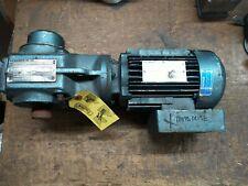 SEW-Eurodrive 1 HP 230/460 VAC Electric Gearmotor Ratio 6.8:1 485 RPM Tested