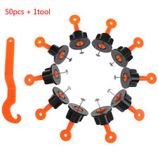 50pcs leveling system laying aid laying system tiles installation + 1 tooUVH4