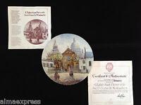 4th Issue Dali France L'Eglise Saint-Pierre et le Sacre-Coeur Montmartre Plate