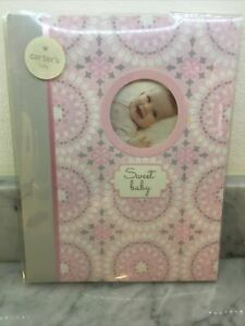 Carter's baby, Welcome Sweet Baby, Memory book -  pink - Sweet Sparkle