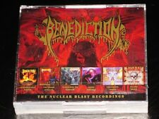 Benediction: The Nuclear Blast Recordings 6 CD Box Set 2018 Dissonance UK NEW
