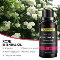 100% Pure Natural Essential Oils Rose Aromatherapy Fragrance Aroma 30ml