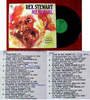 LP Rex Stewart: Memorial (CBS Realm Jazz 52 628) UK 1970