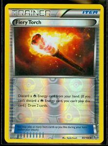 Pokemon FIERY TORCH 89/106 - XY Flashfire Rev Holo - MINT