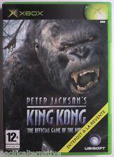 Jeu KING KONG microsoft XBOX francais action aventure peter jackson game spiel 1