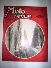 MOTO REVUE N°1226 19 FEVRIER 1955 / ESSAI 250 ZUNDAPP ELASTIC