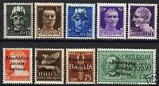 Italy/local Teramo 1944 set of 9 stamps  MNH  VF