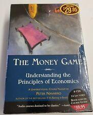 The Money Game Peter Navarro Principles of Economics 8 CD Set +Guide Book Course