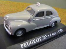 1/43 Eligor Peugeot 203 Taxi Lyon 1955 geblistert