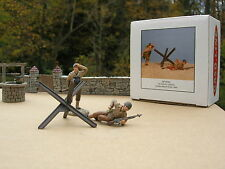 M. FIGHTER 1/48 FIGURINE MILITAIRE METAL Soldats US  First Infantry Division