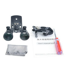 1 Kit Dental Surgical Medical Loupes /Magnifier Clip Type DY-109 2.5X